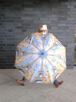 Paris men umbrella