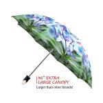 Butterflies good quality folding rain umbrella with gift box