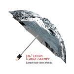 Canadian Waterfall good quality folding rain umbrella with gift box