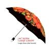 Folk Art good quality folding rain umbrella with gift box