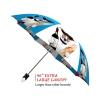 French Dog good quality folding rain umbrella with gift box