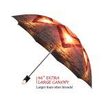 Love at Sunset good quality folding rain umbrella with gift box