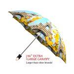 Paris good quality folding rain umbrella with gift box