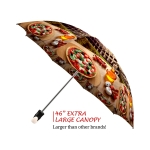 Rome good quality folding rain umbrella with gift box