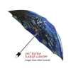 Van Gogh good quality folding rain umbrella with gift box