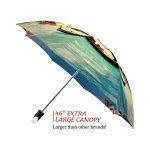 Venice good quality folding rain umbrella with gift box