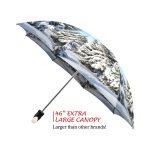 Winter good quality folding rain umbrella with gift box
