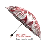 Winter Wonderland good quality folding rain umbrella with gift box