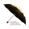 Yin Yang good quality folding rain umbrella with gift box