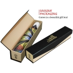 Floral Stained Glass high quality unique umbrella in gift box_automatic