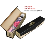 Vintage Roses high quality unique umbrella in gift box_automatic