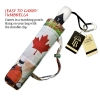 Canadian Collage large canopy small folding umbrella