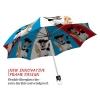French Dog stylish art auto open umbrella