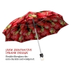Strawberries stylish art auto open umbrella