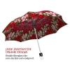 Tulips stylish art auto open umbrella