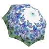 Butterfly Umbrella Blue Design - Fashion Umbrella Stylish Gift - Compact Automatic Rain Umbrella