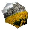 Compact Automatic Rain Umbrella Canada Gift - Folding Colorful Umbrella with Sleeve