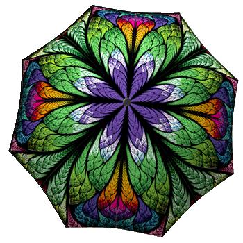 Windproof rain umbrella for women