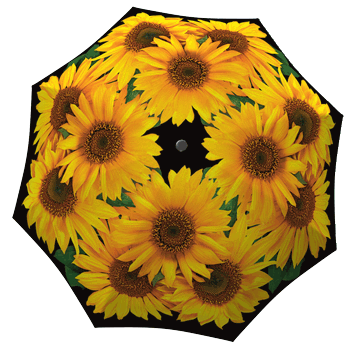 Sunflower folding umbrella