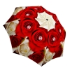 Red Roses Umbrella Windproof Compact for Travel - Brand Umbrella for Women