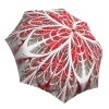 Compact Automatic Rain Umbrella Winter Wonderland Design - Designer Portable Brand Umbrella Windproof
