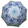 Butterfly umbrella blue - Beautiful heavy duty extra large rain umbrellas for sale