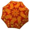 Umbrella Canadian Autumn - Folding Colorful Orange Umbrella with Sleeve - best brand auto folding umbrella