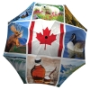 Canadian Flag Umbrella Windproof Auto Open Close - best and biggest umbrellas