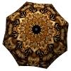 Gold Floral Umbrella Art for Women - Fashion Umbrella Stylish Gift - best golf umbrella