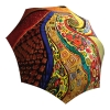 Unique Gift Abstract Art Umbrella Klimt Design - Folding Colorful Umbrella with Sleeve