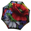 Art Poppy Umbrella for Women - Compact Automatic Beautiful Umbrella Wild Poppies Design - Vintage Umbrella Travel - best umbrellas in the world
