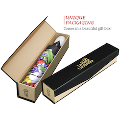 Wild Poppies High quality unique umbrella in gift box automatic