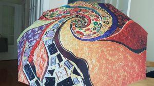 Klimt windproof art umbrella