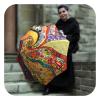 Klimt inspired Art umbrella - Portable umbrella for women by La Bella Umbrella