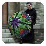 Peacock-Umbrella - Beautiful umbrella for wind by La Bella Umbrella