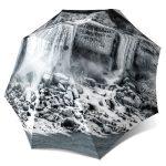 Fashion Travel Umbrella Canadian Gift - Canadian waterfall Umbrella Windproof Auto Open Close