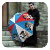 French Dog Funny Umbrella folding - Fashion original umbrella for men by La Bella Umbrella