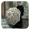 Money-Collage-Umbrella - Funny umbrella gift for men by La Bella Umbrella