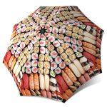 Rain Umbrella windproof compact - Japanese Sushi Umbrella