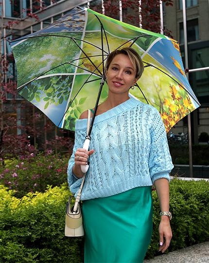 Fashion Floral folding umbrellas for women branded stylish original designs