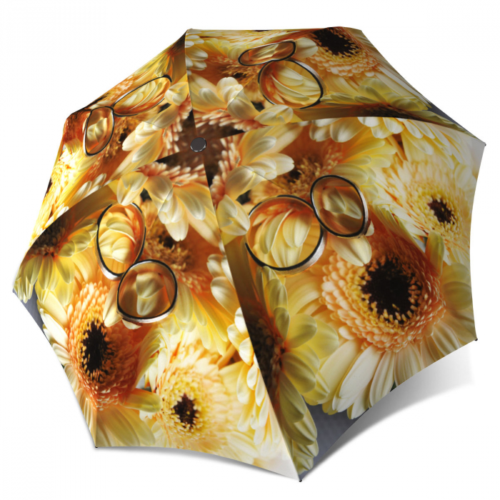 Beautiful Brand Umbrella for Women - Sunflowers Wedding Umbrella Unique Gift