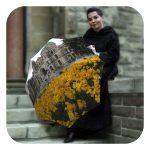 Canada Travel windproof umbrella bu La Bella Umbrella