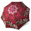 Tulips Compact Automatic Rain Umbrella - Art Floral Umbrella for Women