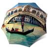 Venice Italy Compact Automatic Windproof Rain Umbrella