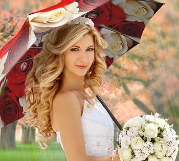 Large Umbrellas for Wedding - La Bella Umbrella