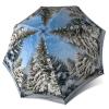 Unique Gift Art Umbrella - Winter Design Lightweight Portable Rain Umbrella