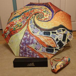 Abstract art design umbrella